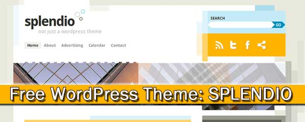 Free wordpress theme: splendio