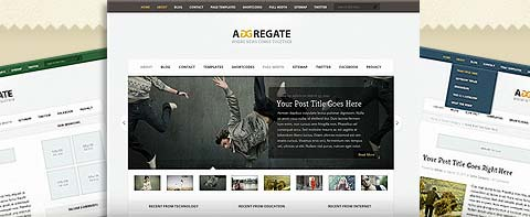 The Aggregate Theme for WordPress