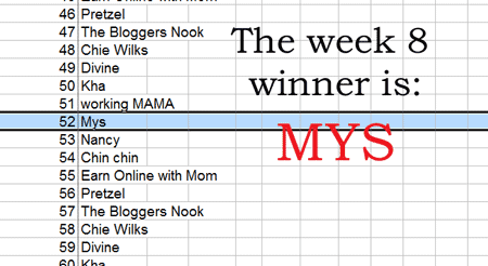 techie she week 8 winner