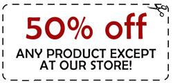 50% off coupon