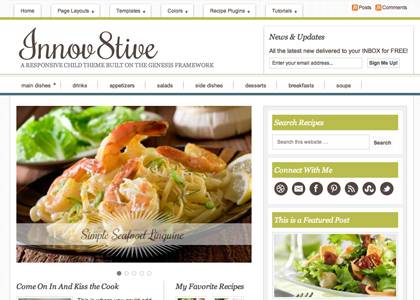innov8tive theme for wordpress