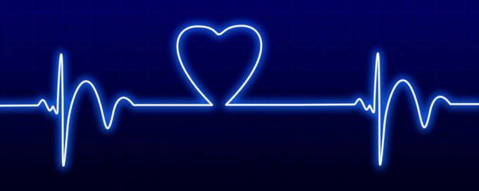heart rate blue